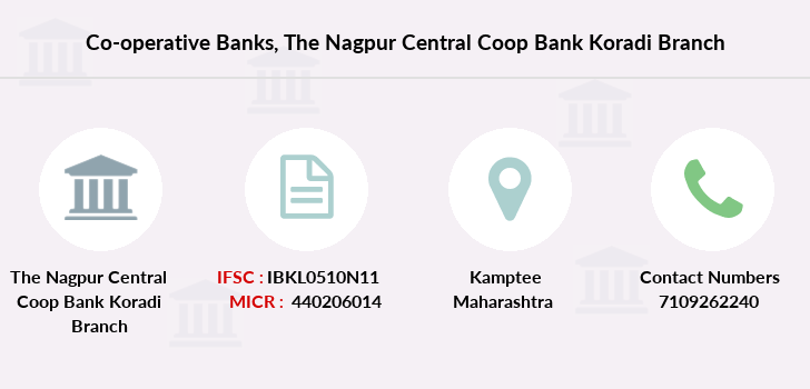 Co-operative-banks The-nagpur-central-coop-bank-koradi branch