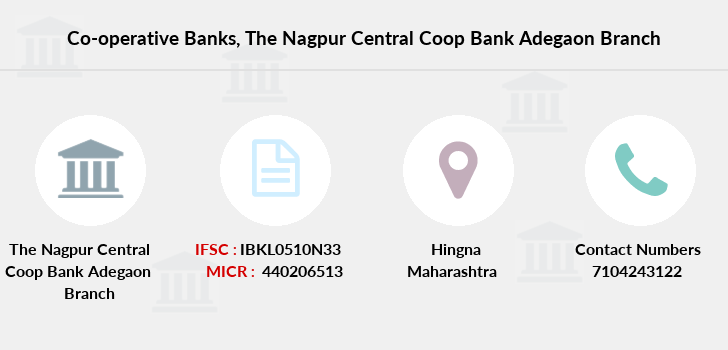 Co-operative-banks The-nagpur-central-coop-bank-adegaon branch