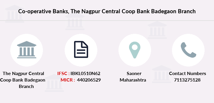Co-operative-banks The-nagpur-central-coop-bank-badegaon branch