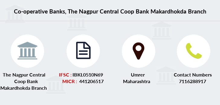 Co-operative-banks The-nagpur-central-coop-bank-makardhokda branch