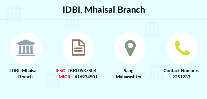 Idbi-bank Mhaisal branch