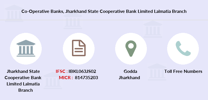 Co-operative-banks Jharkhand-state-cooperative-bank-limited-lalmatia branch