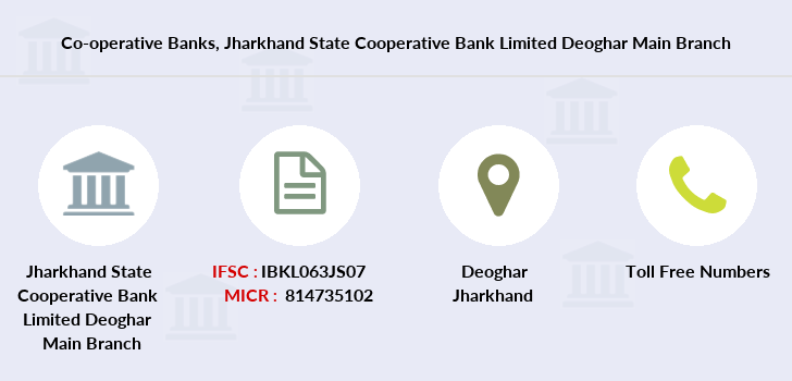 Co-operative-banks Jharkhand-state-cooperative-bank-limited-deoghar-main branch