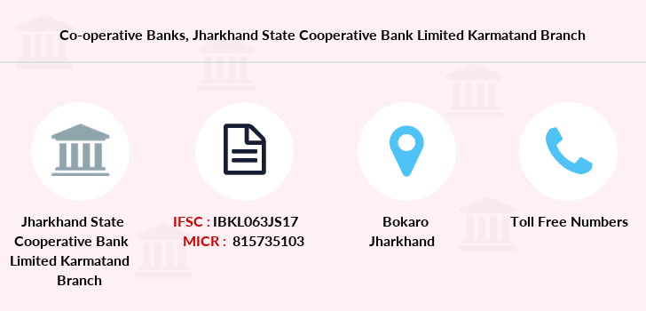 Co-operative-banks Jharkhand-state-cooperative-bank-limited-karmatand branch