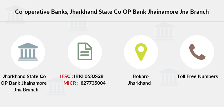 Co-operative-banks Jharkhand-state-co-op-bank-jhainamore-jna branch