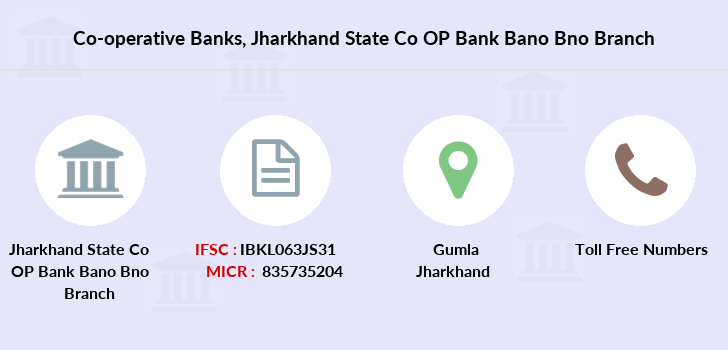 Co-operative-banks Jharkhand-state-co-op-bank-bano-bno branch