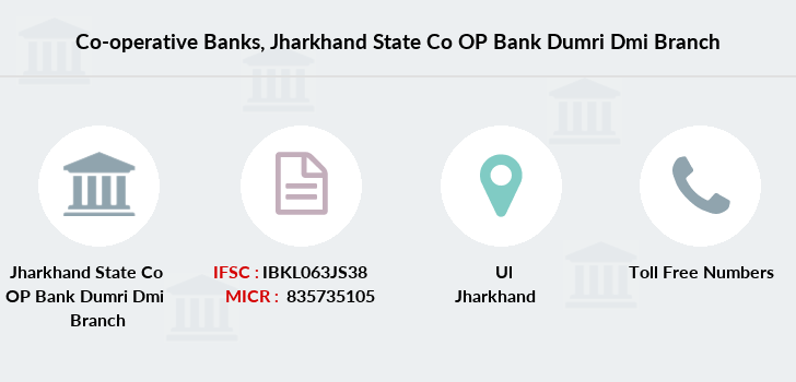 Co-operative-banks Jharkhand-state-co-op-bank-dumri-dmi branch