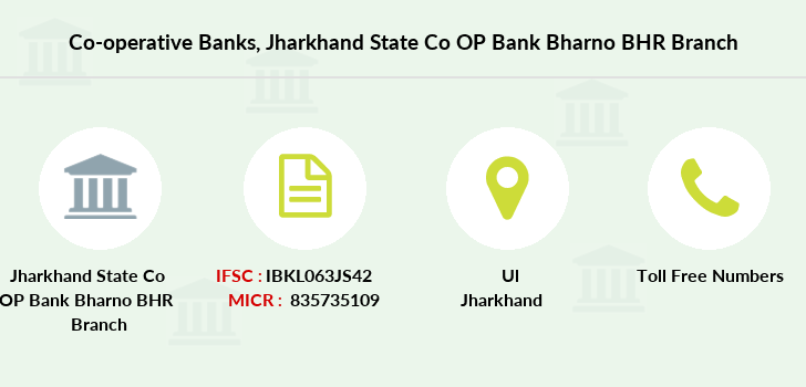 Co-operative-banks Jharkhand-state-co-op-bank-bharno-bhr branch