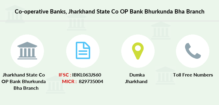 Co-operative-banks Jharkhand-state-co-op-bank-bhurkunda-bha branch