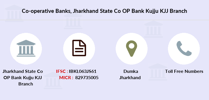 Co-operative-banks Jharkhand-state-co-op-bank-kujju-kjj branch