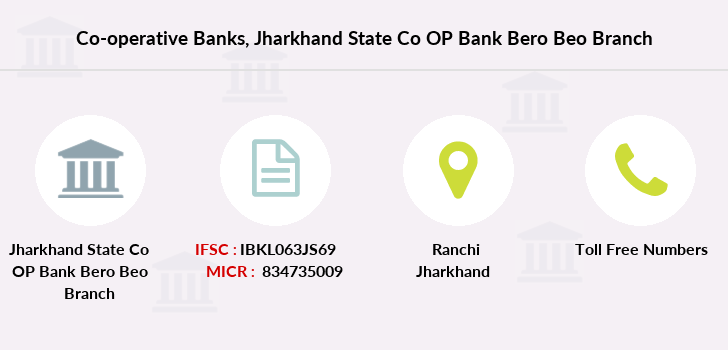 Co-operative-banks Jharkhand-state-co-op-bank-bero-beo branch