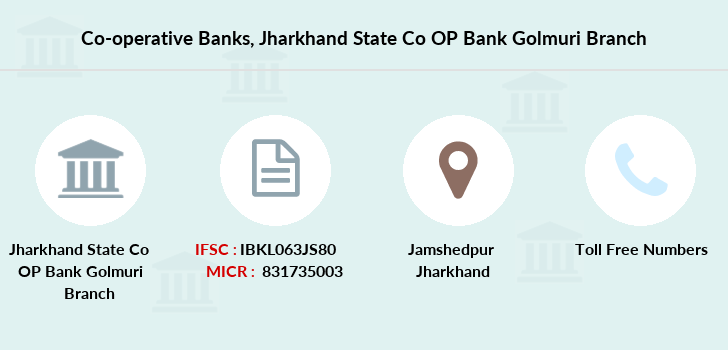 Co-operative-banks Jharkhand-state-co-op-bank-golmuri branch
