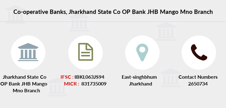 Co-operative-banks Jharkhand-state-co-op-bank-jhb-mango-mno branch