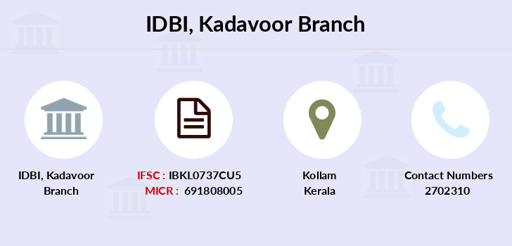 Idbi-bank Kadavoor branch