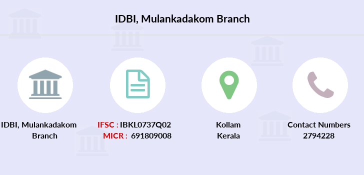 Idbi-bank Mulankadakom branch