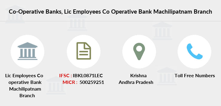 Co-operative-banks Lic-employees-co-operative-bank-machilipatnam branch