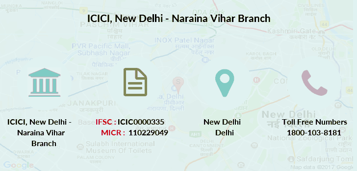 Icici forex branch delhi
