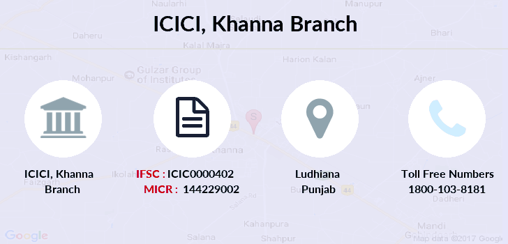 Icici-bank Khanna branch