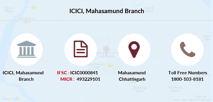 Icici-bank Mahasamund branch