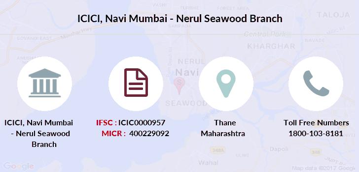 icici bank branch in navi mumbai