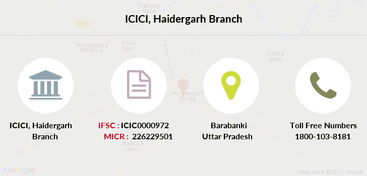 Icici-bank Haidergarh branch