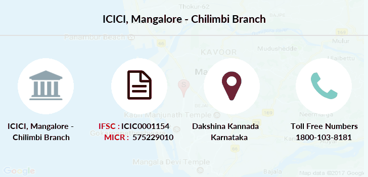 Icici-bank Mangalore-chilimbi branch