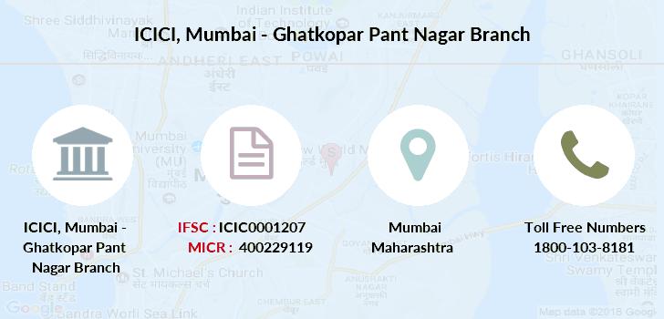 icici bank customer care maharashtra mumbai