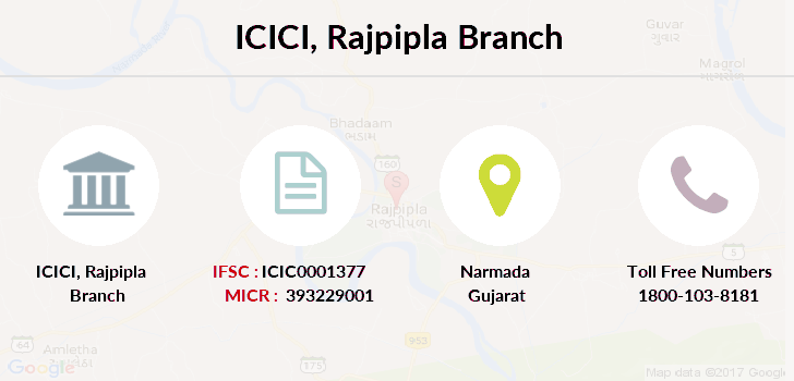 Icici-bank Rajpipla branch