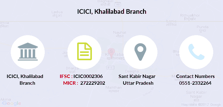 Icici-bank Khalilabad branch