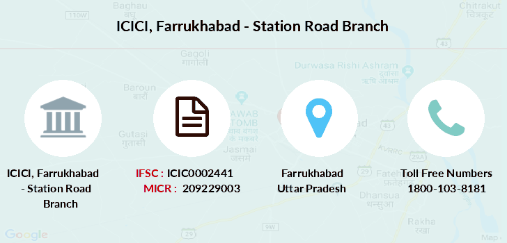 Icici-bank Farrukhabad-station-road branch