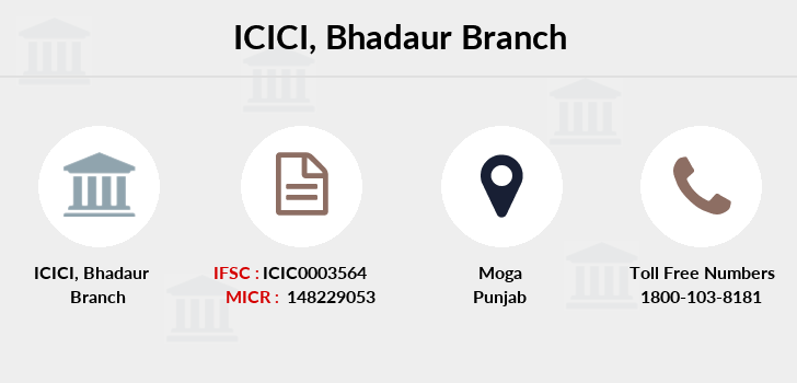 Icici-bank Bhadaur branch