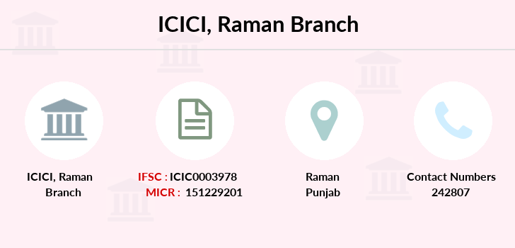 Icici-bank Raman branch