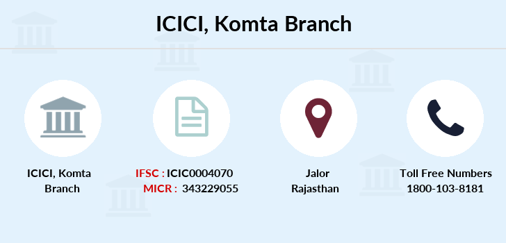 Icici-bank Komta branch