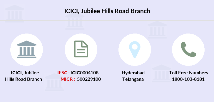 Icici-bank Jubilee-hills-road branch