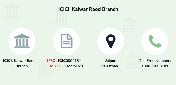 Icici-bank Kalwar-raod branch