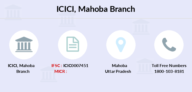 Icici-bank Mahoba branch