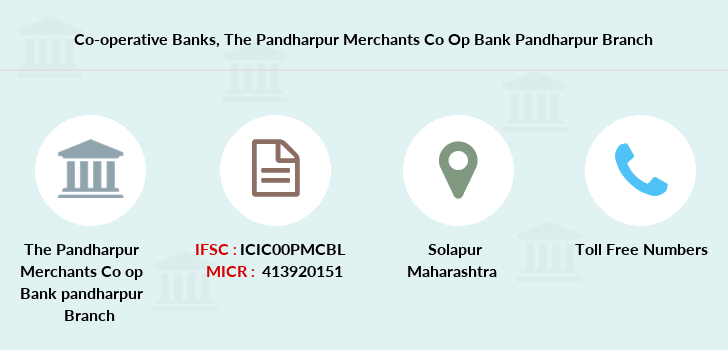 Co-operative-banks The-pandharpur-merchants-co-op-bank-pandharpur branch