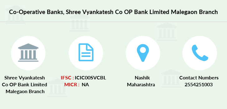 Co-operative-banks Shree-vyankatesh-co-op-bank-limited-malegaon branch