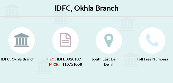Idfc-bank-ltd Okhla branch