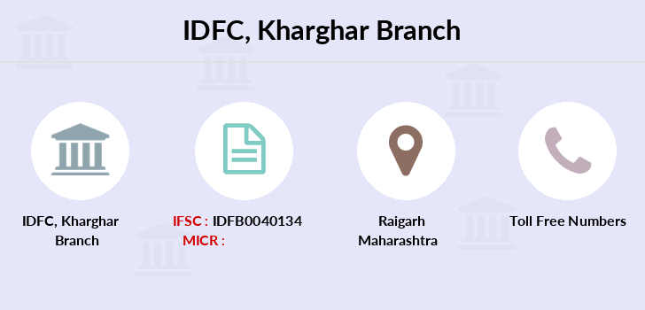 Idfc-bank-ltd Kharghar branch