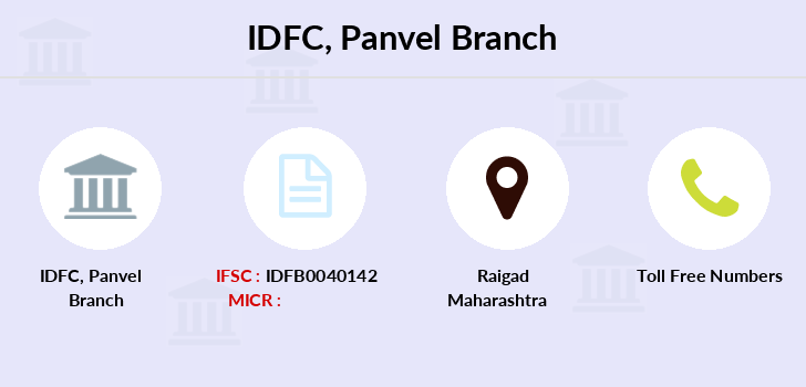 Idfc-bank-ltd Panvel branch