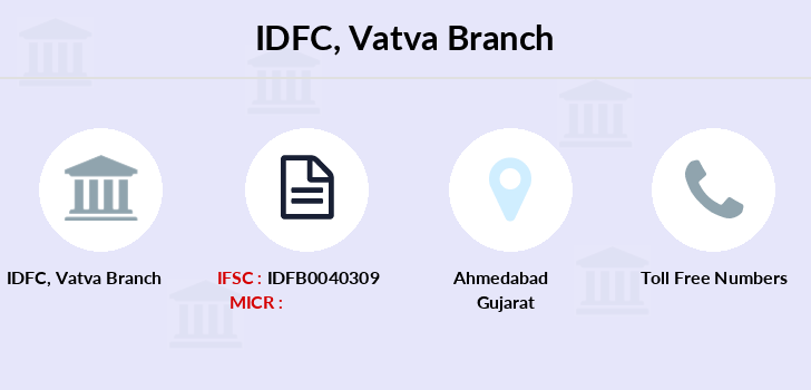 Idfc-bank-ltd Vatva branch