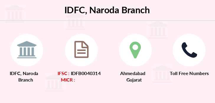 Idfc-bank-ltd Naroda branch