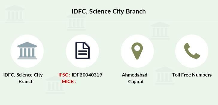 Idfc-bank-ltd Science-city branch