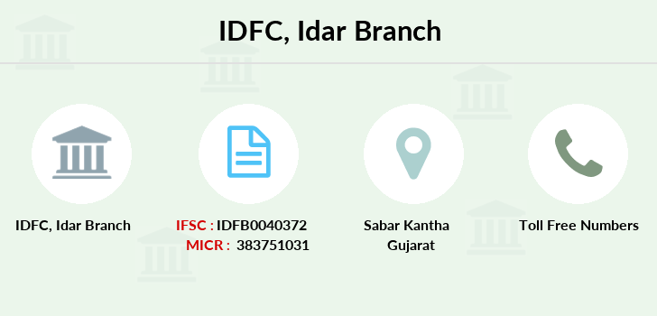 Idfc-bank-ltd Idar branch