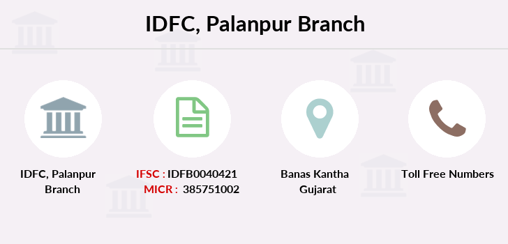 Idfc-bank-ltd Palanpur branch