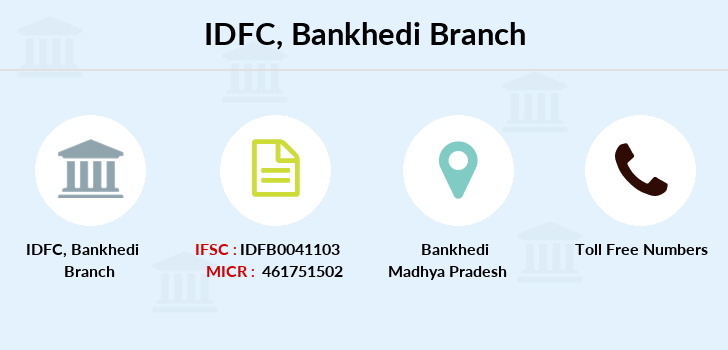 Idfc-bank-ltd Bankhedi branch