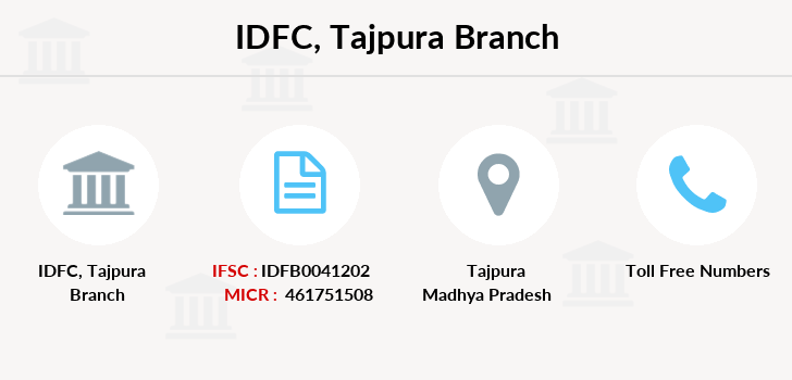 Idfc-bank-ltd Tajpura branch