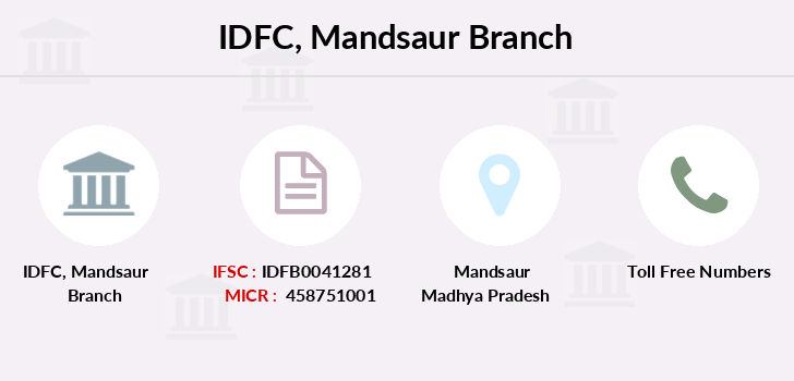 Idfc-bank-ltd Mandsaur branch