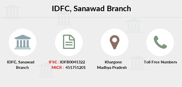 Idfc-bank-ltd Sanawad branch